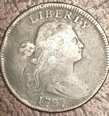 1797 Draped  Bust Large Cent.   Nice