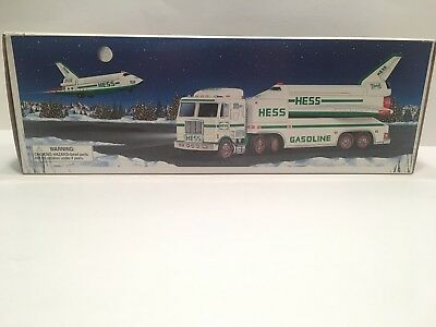 1999 Hess Toy Truck And Space Shuttle