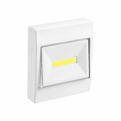 3W 150 Lumen Wireless COB LED Night Emergency Wall Closet Shelf Switch Light