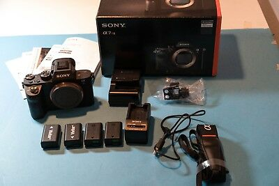Sony Alpha a7R II 42.4MP Digital Camera - Black (Body Only) Great condition