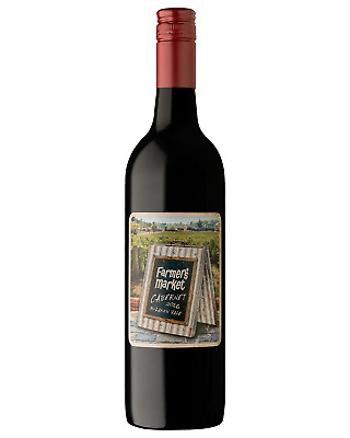 Farmers Market McLaren Vale Cabernet Sauvignon case of 6 Dry Red Wine 750mL
