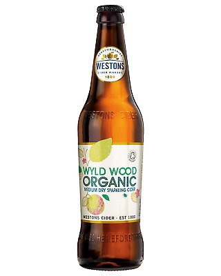 Westons Wyld Wood Premium Organic Cider case of 12 Apple Cider 500mL