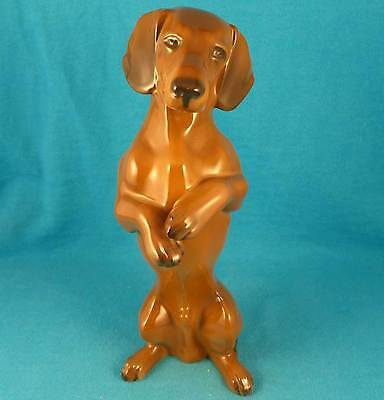 ROSENTHAL begging dachshund doxie dog Meyer-Pyritz old vintage FREE SHIPPING