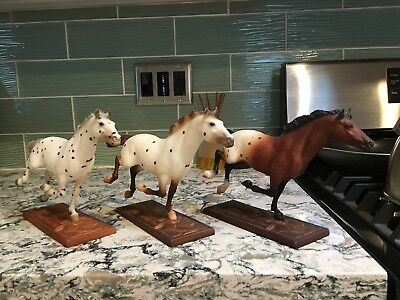 Breyer~Lot Of 3 Vintage Hobos~Passing Through Time~All 3 Phases~Excellent