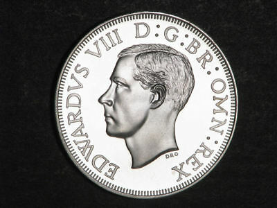 SOUTHERN RHODESIA 1937 5 Shillings Silver Crown Proof - Mtg=500