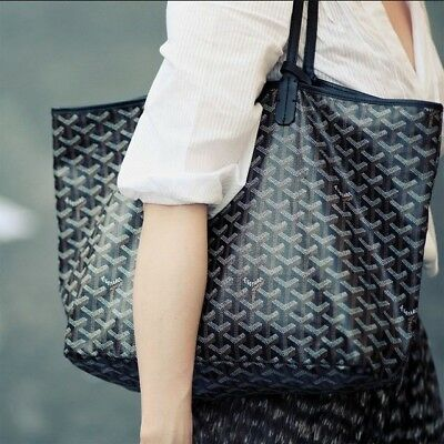 Authentic Goyard Saint Louis PM Tote Authentic Goyard St. Louis tote in black