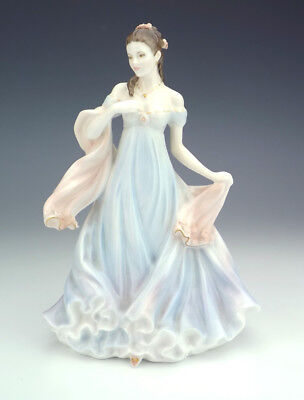 Royal Worcester Porcelain - With All My Heart - Young Lady Figure - Ltd Edition!