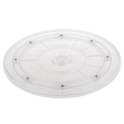 360 Rotating Disc Turn Table for Store Office Replacement Props 8inch Clear