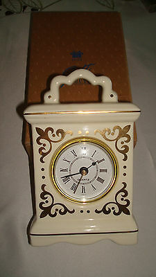 "Vintage Avon*classic Carriage Clock*6 3/4""x4 1/2"" New In Box*uses One Aa Battery"