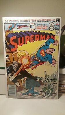 Superman #301.      (Nm-)     ~Epic Solomon Grundy Cover~   First Print   1976