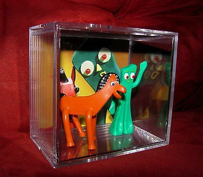 L@@K~Gumby and Pokey inspired by display...ready to ship out now...Brand New
