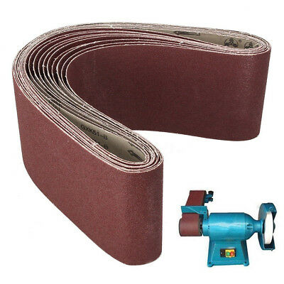 150x1220mm (6x48'') Abrasive Sanding Belt Industrial Cloth Backed 40~1000 Grit