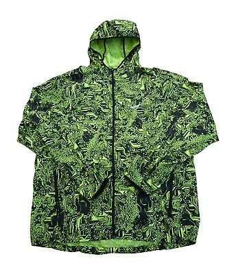 6fe72723a3bc Nike Shield Mens Printed Hooded Lightweight Running Jacket 800494 010
