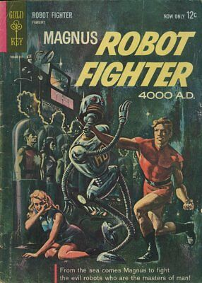 Magnus Robot Fighter 4000 A.d. #1 (1963) Photocopy Book 1St App Intro - Gold Key
