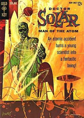 DOCTOR SOLAR, MAN of the ATOM #1 (1962) PHOTOCOPY BOOK 1ST APP INTRO - GOLD KEY