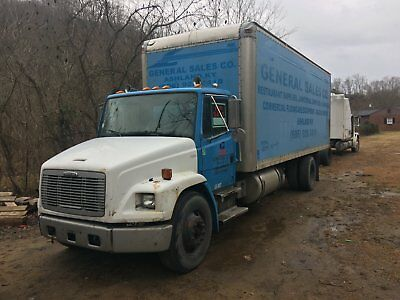 2002 Freightliner FL60 with 24 ft box