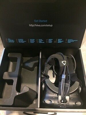 HTC Vive VR Headsets only with HS Cables and Box - 2 Available - Great condition