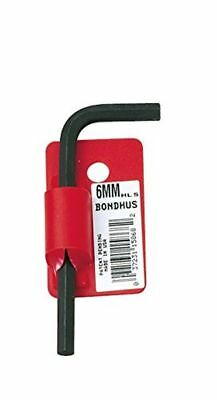 Bondhus 15888 19mm Hex Tip Key L-Wrench with ProGuard Finish, Tagged and Barcode
