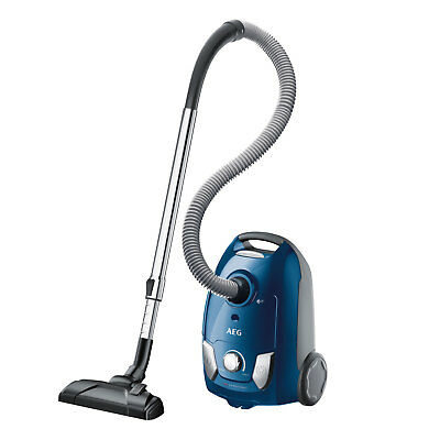 AEG VX4-1-PM-P Bodenstaubsauer X Efficiency blau metallic Staubsauger