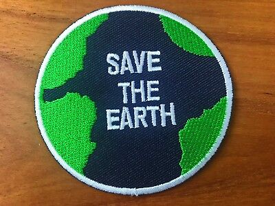 Save the earth world love planet map logo peace applique iron on save the earth world love planet map logo peace applique iron on patch sew gumiabroncs Image collections