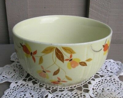 Old Vintage Hall's Superior Autumn Leaf 1 Qt. Radiance Mixing Bowl Kitchen Tool