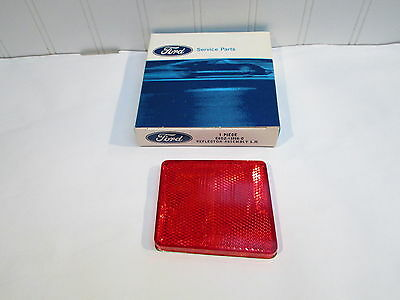 Nos 1968 Ford Torino & Fairlane Sedan & Conv. Lh Rear Quarter Panel Reflector