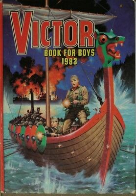 Victor Book For Boys 1983 (Annual), D C Thomson, Very Good Book