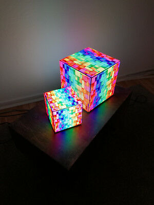 NuvoLED LED Cube P4 Video Würfel Plug & Play toller Effekt
