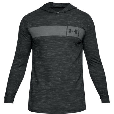 Under Armour Hoodie UA Sportstyle Schwarz 2018 Fitness Sport Traning Pullover