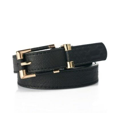 Genuine Thin Leather Belt For Jeans Belt For Womens Pants Buckle Fashion Female