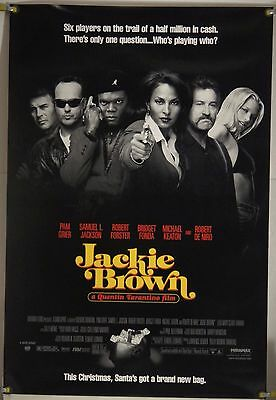 Jackie Brown Rolled Orig 1Sh Movie Poster Pam Grier Quentin Tarantino (1997)