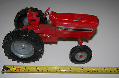 "Antique ERTL Die-cast International Toy Tractor 8"" long x 4.5"" tall"