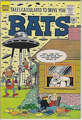 Tales Calculated to Drive you Bats #3 (Silver Age) F/VF