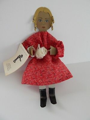 Shadow Dancer American Folk Art Collectibles  Shelf Sitting Doll  Artist Signed