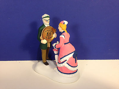 Dept 56 Dickens Village LONG LIVE THE QUEEN w/ box NEW! Combine Shipping!