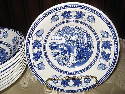 Vintage The American Victoria Collection Fine English Ironstone Bowls Set of 2
