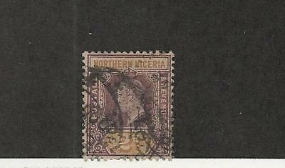 Northern Nigeria, Postage Stamp, #21 Used WMK3, 1905