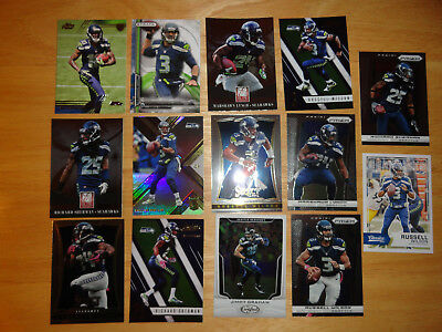14 NFL Trading Card Lot Seattle Seahawks NFL