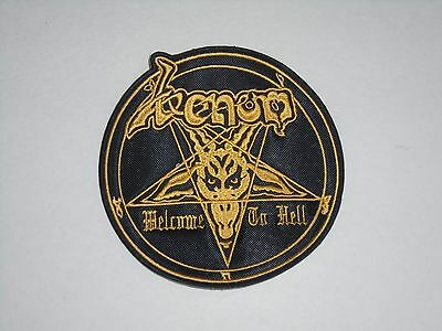 Venom Welcome To Hell Embroidered Patch