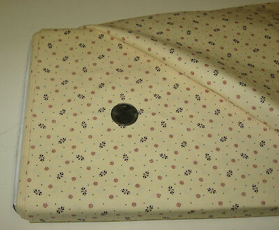 Marcus quilt-craft fabric Antique Cottons 2 yds (1743-142) 18th-19th century