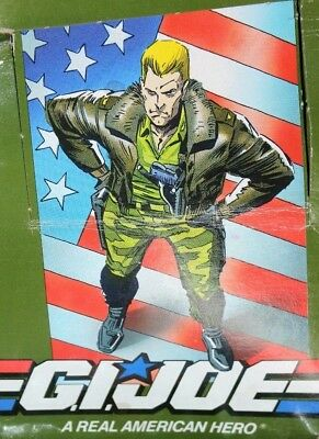 Vintage (60) Sixty G I Joe American Hero Action Cards Un-Opened