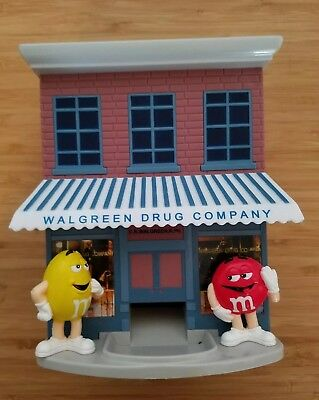 Vintage Walgreen Drug Store M&M's Candy Dispenser ~ Exclusive Collectors Ed.