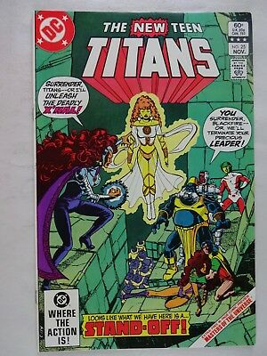 New Teen Titans #25   High Grade NM  Omega Men   Masters of the Universe Preview