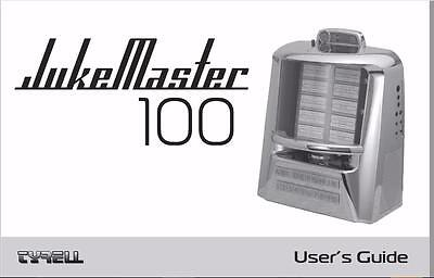JukeMaster 100 Jukebox Custom CD/Card Program Support User's Manual MORE Tyrell