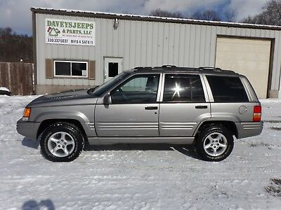 1998 Jeep Grand Cherokee LIMITED 1998 JEEP GRAND CHEROKEE LIMITED 5.9 4X4 LOADED 98 ZJ SUV 4WD NICE CLEAR TITLE