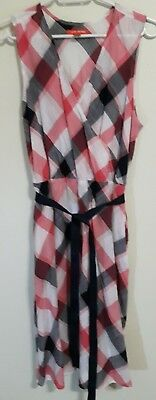 Womens NWOT Joe Fresh checkered dress size Large