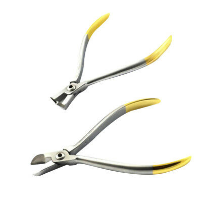 Distal End Cutter + Dental Lab Hard Wire Ligature Plier - Orthodontic Supply