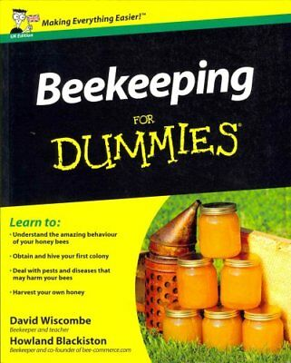 Beekeeping for Dummies UK Edition by David Wiscombe 9781119972501