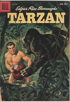 1960 Issue No. 116 Dell Comics Tarzan Edgar Rice Burroughs Comic Book