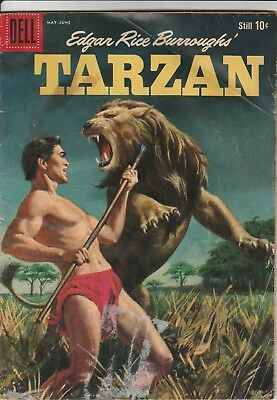 1959 Issue No. 112 Dell Comics Tarzan Edgar Rice Burroughs Comic Book